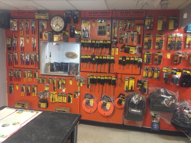 Tools, Supplies & Testing Equipment